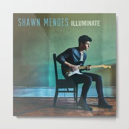 shawn mendez illuminate album tour 2021 desem Metal Print