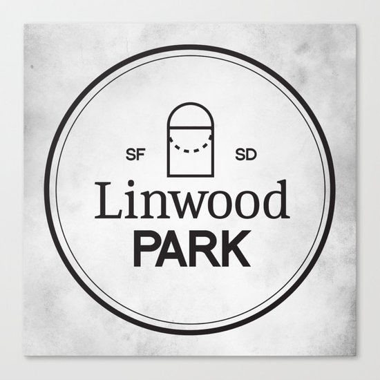 Linwood Park Canvas Print
