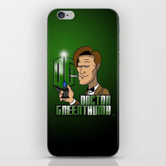 Doctor Greenthumb iPhone & iPod Skin