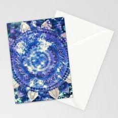 Boho Grape Fizz Mandala Stationery Cards