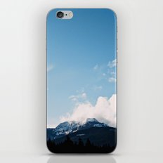 Clouds over the Mountains iPhone & iPod Skin