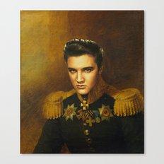 Elvis Presley - replaceface Canvas Print