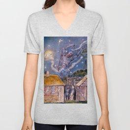 """William Blake """"The Goblin"""" Unisex V-Neck"""