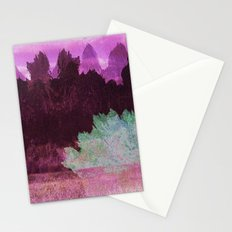 The Indian Ink Peaks 4 Stationery Cards