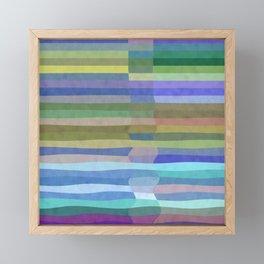 Fab Arty Stripes Framed Mini Art Print