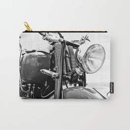 Motorcycle-B&W Carry-All Pouch