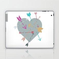 Arrow Heart Laptop & iPad Skin