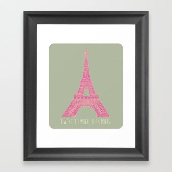 OUI OUI Framed Art Print
