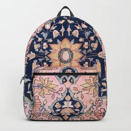 Sarouk  Antique West Persian Rug Print Backpack