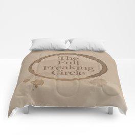Gilmore Girls Inspired - The Full Freaking Circle Comforters