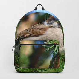 Bird in Garden Backpack