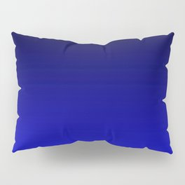 Black and Cobalt Gradient Pillow Sham