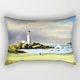 Turnberry Golf Course Scotland 10th Green Rectangular Pillow