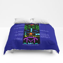 The Arecibo message explained Comforters