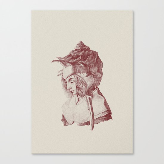 Haute Coiffure  /#7 Canvas Print