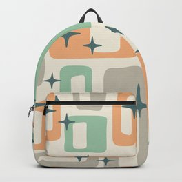 Mid Century Modern Geometric Abstract 190 Backpack