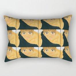 Cornbread Takes a Dive Rectangular Pillow