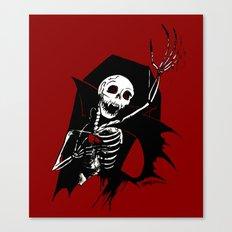 Death of Dracula Canvas Print