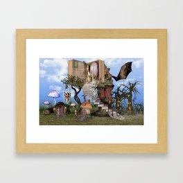 Bringing stories to life Framed Art Print
