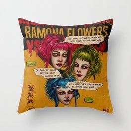 FUTURE EVIL EX-GIRLFRIEND Throw Pillow