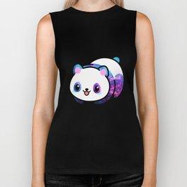 Kawaii Galactic Mighty Panda Biker Tank