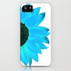 blue & white summer Slim Case iPhone (5, 5s)