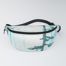 Turquoise Mist Fanny Pack