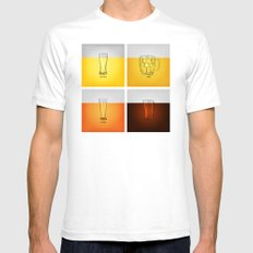 Golden Nectar SMALL Mens Fitted Tee White