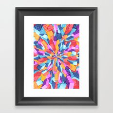 Inside Out Framed Art Print
