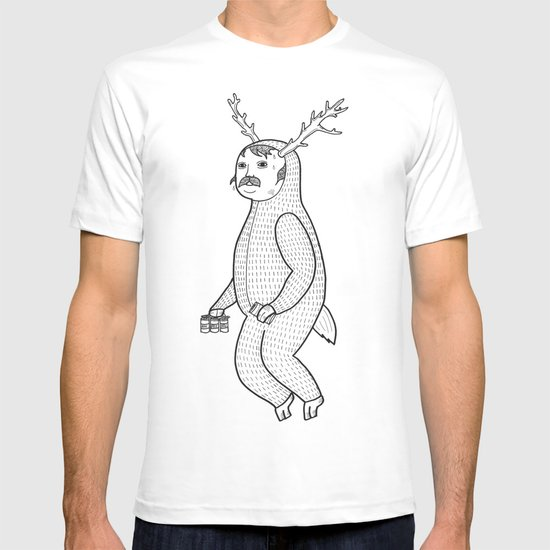 On the inconveniences of dressing up as an animal. T-shirt