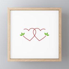 Just married Framed Mini Art Print