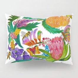 Australian native flowers wreath Pillow Sham