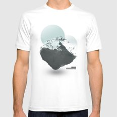 Mt. Everest - The Surreal North Face Mens Fitted Tee White MEDIUM
