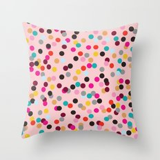Confetti #3 Throw Pillow