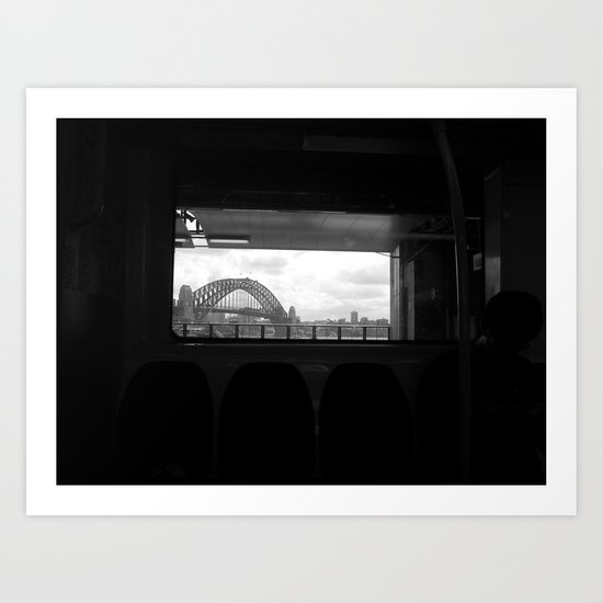 Sydney Morning Art Print