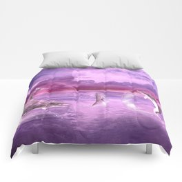 Dream Of Dolphins Comforters