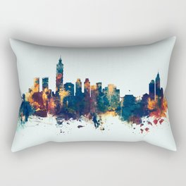 Taipei Taiwan Skyline Rectangular Pillow