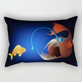 Anglerfish Rectangular Pillow