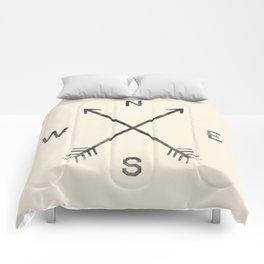 Compass (Natural) Comforters