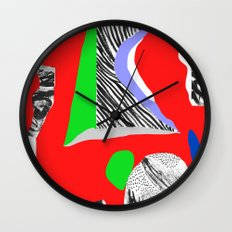Mountain expedition Wall Clock