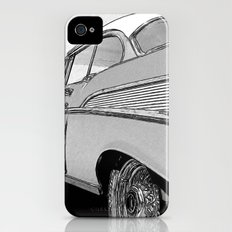 Chevrolet Bel Air 1957 - Pencil Sketch Style Slim Case iPhone (4, 4s)