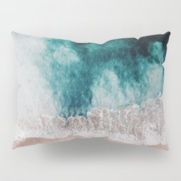 Ocean (Drone Photography) Pillow Sham