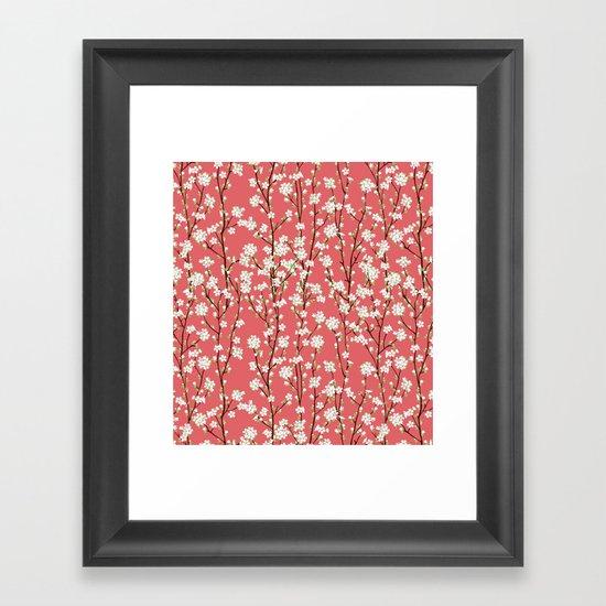 Go Orient Cherry Blossoms Framed Art Print