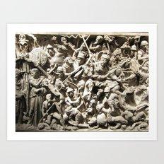 Roman Battle Art Print