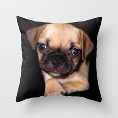 Puggle Throw Pillow