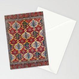Bakhtiari Bergama Northwest Anatolian Floral Rug Print Stationery Cards