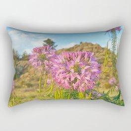 Colorado Wildflowers Rectangular Pillow