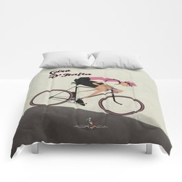 Giro D'Italia Cycling Race Italian Grand Tour Comforters