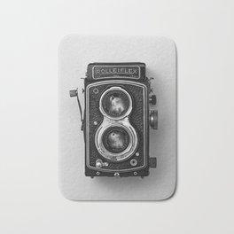 Rolliflex Camera Bath Mat