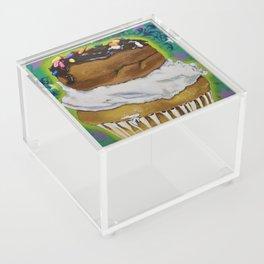 DonutCupcake Acrylic Box